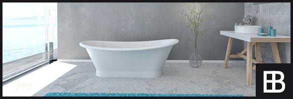 Modernes Design für Bad- und Sanitär