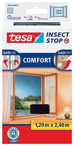 tesa Insect Stop COMFORT Fliegengitter für bodentiefe Fenster