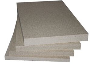 Vermiculite Schamotte Ersatz, 1 Platte