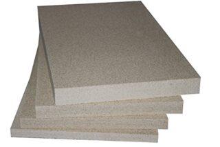 Vermiculite Schamotte Ersatz, 5 Platten