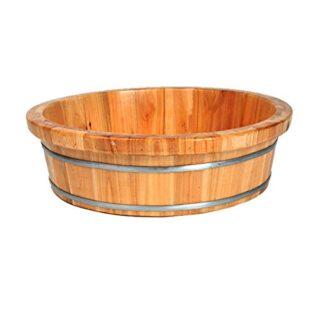QULONG Holzbadewanne für Kinder