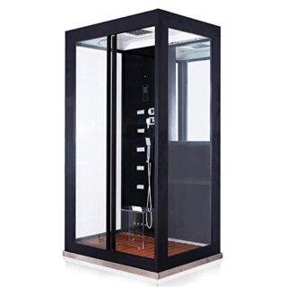 Home Deluxe Dampfdusche Black Luxory XL