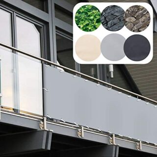 casa pura Balkonverkleidung PVC 90×600