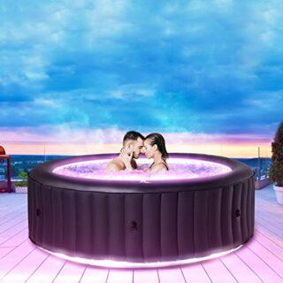Miweba MSpa aufblasbarer Whirlpool Aurora U-AU06 Outdoor, 6 Personen