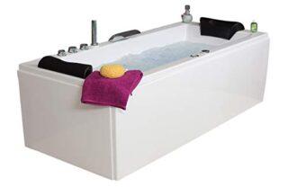 Whirlwanne Relax Basic, 140/150/160/170 x 75 cm, 14 Massage Düsen