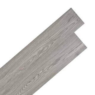 vidaXL PVC-Fliese, 5,02m², 2mm, dunkelgrau