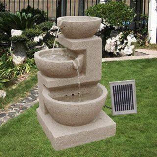 Wehmann Solarbrunnen für Garten und Terrasse