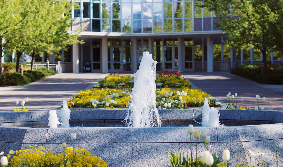Springbrunnen und Wasserspiele