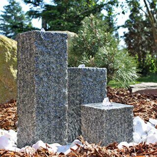 CLGarden Granit Springbrunnen SB2, Wasserspiel