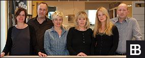 Das Team von der Ausstellung Düsseldorf