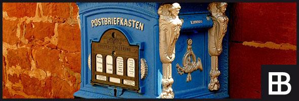 Formschöne und funktionelle Briefkästen