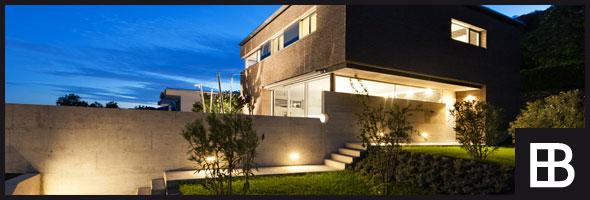 Modernes Haus mit edlen Bauelementen